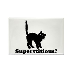 Superstitious Rectangle Magnet (100 pack)