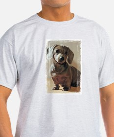 Dachshund Puppy Ash Grey T-Shirt