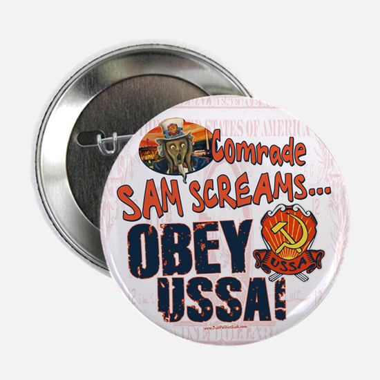 "Obey the USSA 2.25"" Button"