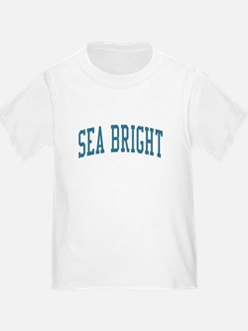 Sea Bright New Jersey NJ Blue T