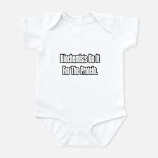 """""""Biochemists...Protein"""" Infant Bodysuit"""