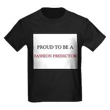 Proud to be a Fashion Predictor Kids Dark T-Shirt