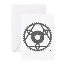 Stronglight Chainring rhp3 Greeting Cards (Pk of 2
