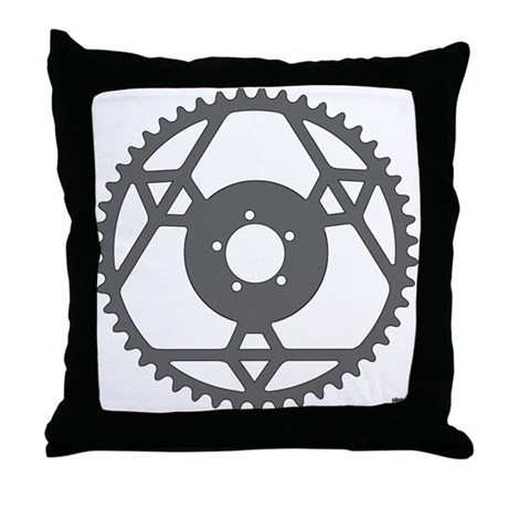 Stronglight Chainring rhp3 Throw Pillow