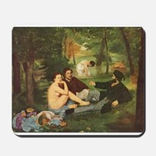 Manet's The Luncheon on the Grass Mousepad