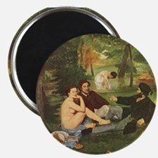 Manet's The Luncheon on the Grass Magnet