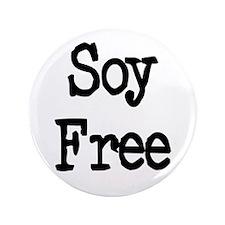"Soy Free 3.5"" Button"