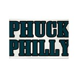 Phuck Philly 1 Rectangle Magnet