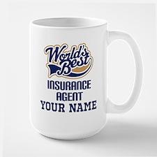 Insurance Agent Personalized Gift Mugs