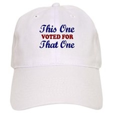 This one That One (Voted Obama) Baseball Cap