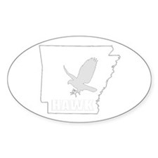 HAWK Logo Oval Decal