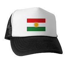 Kurdish Flag Trucker Hat
