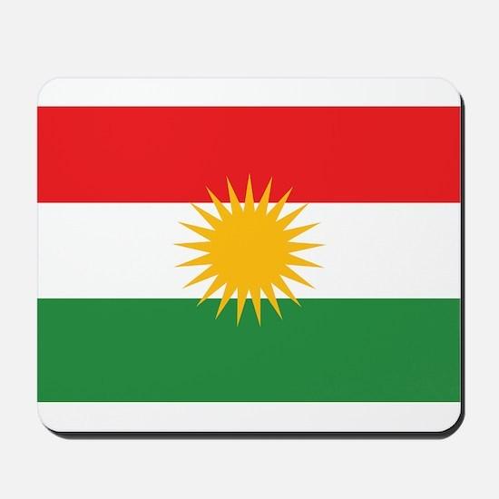 Kurdish Flag Mousepad