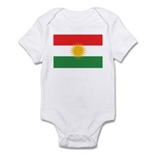 Kurdish Flag Infant Bodysuit