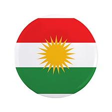"Kurdish Flag 3.5"" Button (100 pack)"