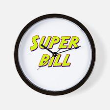 Super bill Wall Clock