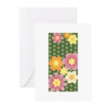 Fun Flower Power Greeting Cards (Pk of 10)