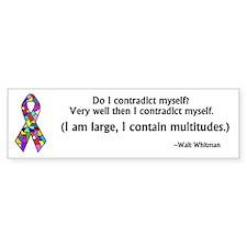 DID/MPD Awareness bumper sticker-10 pack