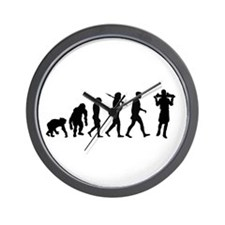 Waiters Silver Service Wall Clock