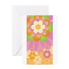 Groovy Flower Power Greeting Card