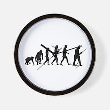 Miners Mining Wall Clock