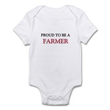 Proud to be a Farmer Infant Bodysuit