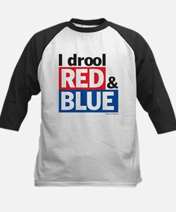 I drool red and blue Tee