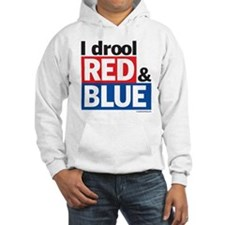 I drool red and blue Hoodie