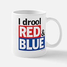 I drool red and blue Mug