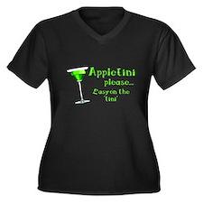 Appletini please... easy on the 'tini' Women's Plu