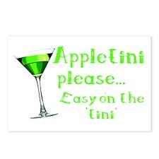 Appletini please... easy on the 'tini' Postcards (