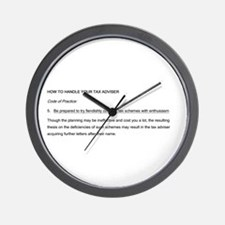 Philosophical Wall Clock