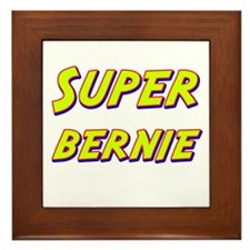 Super bernie Framed Tile