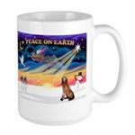 XmasSunrise/Bloodhound Large Mug