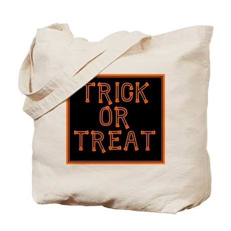 Trick or Treat Smell My Feet Tote Bag