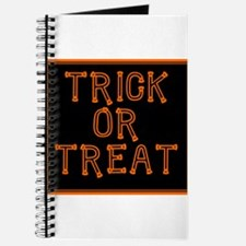 Trick or Treat Smell My Feet Journal