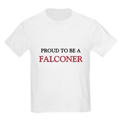 Proud to be a Falconer Kids Light T-Shirt