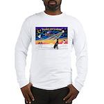 XmasSunrise/Gr Dane (blk) Long Sleeve T-Shirt