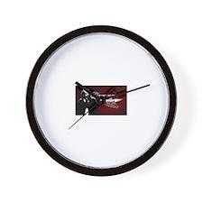 The Big Bad Mixtape Wall Clock