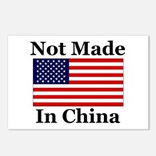 Not Made In China - America Postcards (Package of
