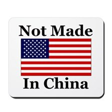 Not Made In China - America Mousepad