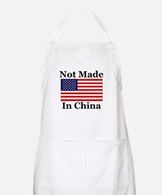 Not Made In China - America BBQ Apron