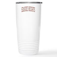 Seaside Heights New Jersey NJ Red Travel Mug