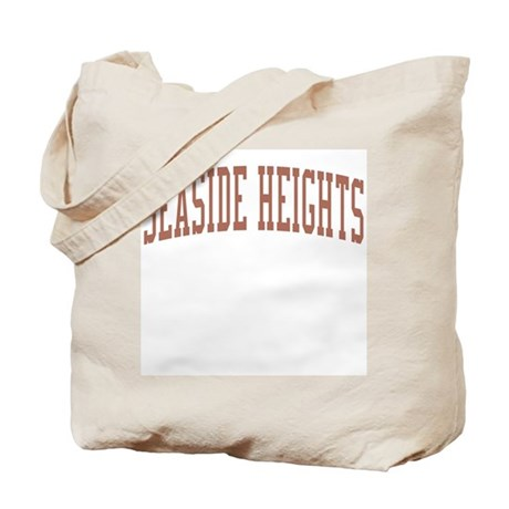 Seaside Heights New Jersey NJ Red Tote Bag