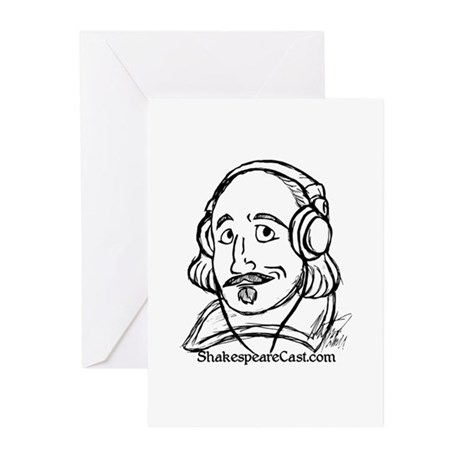 ShakespeareCast Greeting Cards (Pk of 10)