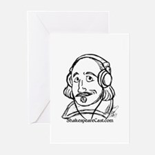 ShakespeareCast Greeting Cards (Pk of 10)