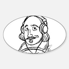 ShakespeareCast Oval Decal