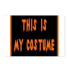 This is My Costume Postcards (Package of 8)