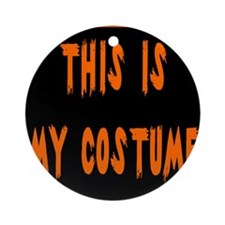 This is My Costume Keepsake (Round)