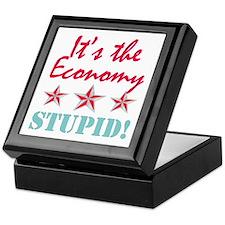 It's the Economy Stupid Keepsake Box